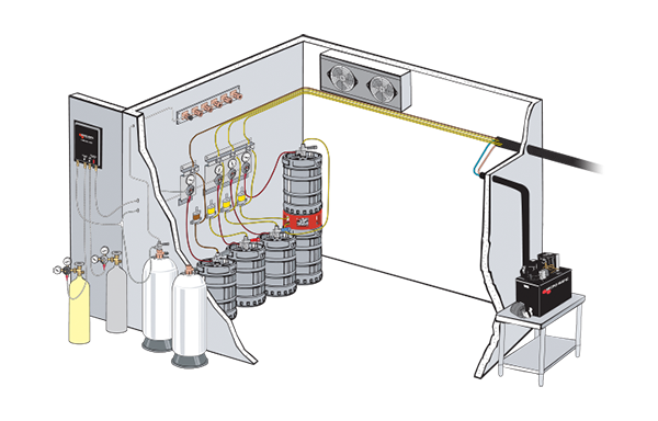Glycol Cooled Draught Beer System