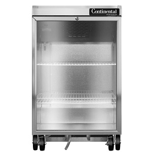 24inch Glass Door Back Bar Refrigerator